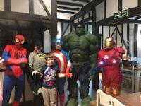 Party characters hire