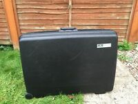 2 Delsey Hard Suitcases For Sale