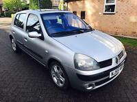Renault Clio 1.4 dynamique 16v 2005 low Milage full logbook full history 2 keys