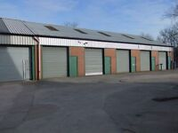 New small industrial units. Low rent Flexible terms. Workshop Garage 2 mins heads of valley road.