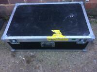 Large flight case.