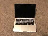 MacBook pro retina 13, 512gb ssd, i5, 8gb ram