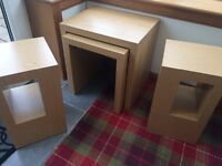Next lamp tables and nest of tables