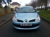 REDUCED 2007 '07'' Renault Clio 1.2 Ripcurl (NEW SHAPE) 83k recent service NEW MOT