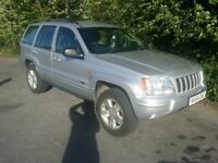 Jeep Cherokee limited edition 2.7 diesel silver 10 months MOT heated leather seats drive