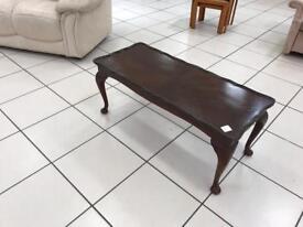 Beautiful dark coffee table