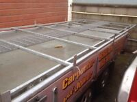 Fiat Ducato, Citroen Relay or Peugeot Boxer heavy duty galvanised roofrack