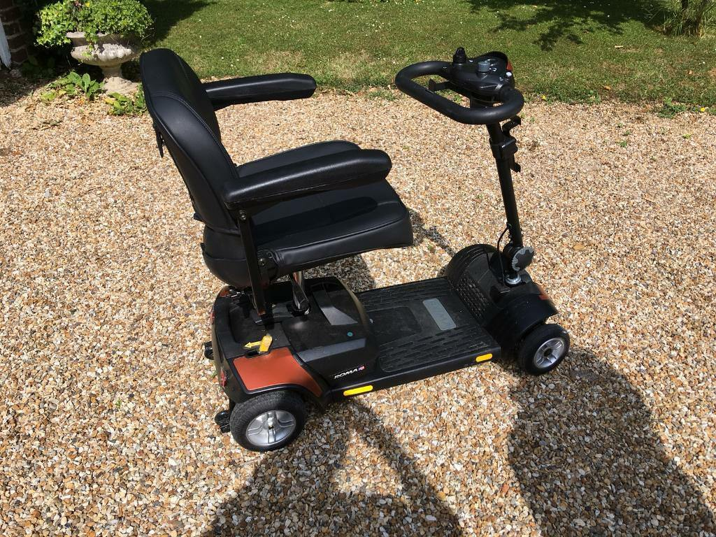 Mobility Scooter Roma Dallas S120 Collapsable In