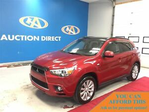 2011 Mitsubishi RVR GT 4WD! HUGE SUNROOF! LEATHER! FINANCE NOW!