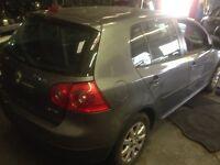 Breaking MK5 VW Golf parts grey colour code LA 7T doors bumpers bonnet tailgate alloys interior