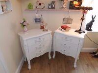 2 x Beautiful refurbished ornate drawers