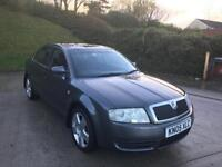 **AUTOMATIC+SKODA SUPERB COMFORT TDI PD 1.9 DIESEL 5 DOOR GREY (2005 YEAR)**