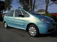 CITROEN XSARA PICASSO 2004 1.6 HDI DIESEL FSH 8 STAMPS INC CAMBELT COMPLETE WITH M.OT HPI CLEAR