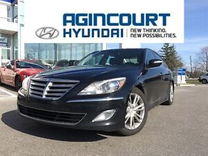 2013 Hyundai Genesis 3.8 Premium/NAVI/LEATHER/SUNROOF/OFF LEASE