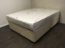 Double divan bed with new mattress. FREE DELIVERY WITHIN 10 MILES OF BELFAST!