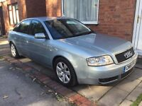 Audi a6 1.8 turbo 180bhp in mint condition long tax n mot hpi clear. Px swap