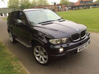 BMW X5 3.0 DIESEL AUTOMATIC SPORT 2 KEYS CREAM LEATHERS HEATED SEAT SAT NAV 13 STAMPS FULL HISTORY