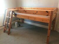 Good condition wooden Thuka mid-sleeper