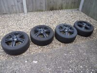 4 Momo Alloy Wheels with Tyres - 195/45 R16
