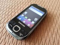 Samsung Galaxy Europa GT-i5500 Mobile Phone On Three Network