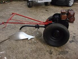 for sale villiers garden tractor good engine good tyres good plougs