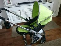 3 in 1 pram/pushchair