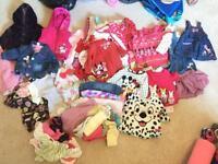 Huge 3-6 months baby girl bundle (76 items)