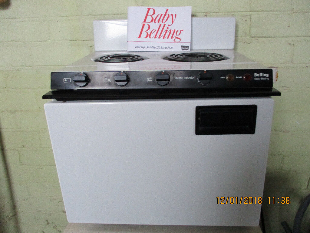 BRAND NEW baby belling table top oven grill and hotplate