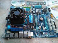 Gigabyte GA-MA790FXT-UD5P Motherboard .Socket AM3