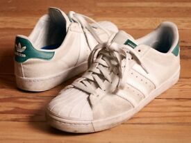 3 Pairs Adidas Skateboarding Superstar VULC ADV Size UK 10