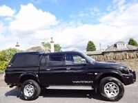 *NOW SOLD* 12 MONTH WARRANTY! MITSUBISHI L200 WARRIOR- Leather- Canopy- RECEIPTS- MOT 1 YEAR- NO VAT