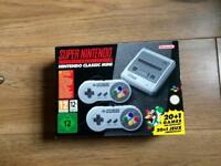 Brand new Super Nintendo Nintendo classic mini plus 21 games