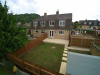 Large Newly Renovated Three Bed House For Sale Tilsdown in Dursley £209,500.00