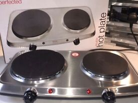 Double ring Hotplate/Cooker, brand new in box