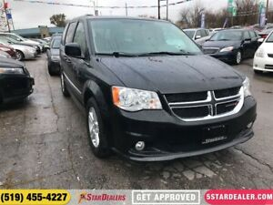 2016 Dodge Grand Caravan Crew | LEATHER | ONE OWNER - POWER LIFT