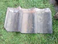 Reclaimed smut roof tiles