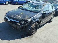 Vauxhall Astra H Z16XEP 40000 miles breaking for spares.
