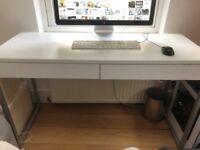 MOVING SALE: White Computer Desk