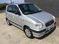 Small 1.0 cc Automatic with LOW mileage & NEW 1 Years MOT 2017 Hyundai Amica auto 1.0L