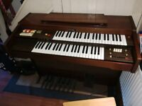 Cavendish (Boosey & Hawkes) electric organ and stool