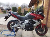 Kawasaki Versys KLE 650, 2011. Excellent condition. Low mileage, Lots of quality extra's