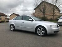 Audi A4 1.8t ,,,,,,long mot ,,,,must be seen,,,£995