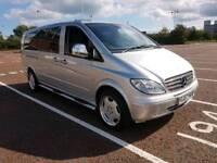 2007 Mercedes Vito Day van 8000 Miles, long mot, sleeps 4 easy With Custom Made Bed