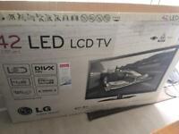 Perfect working LG 42lv450u LED TV in original packing.