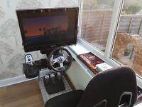 Driving Simulator Full Setup