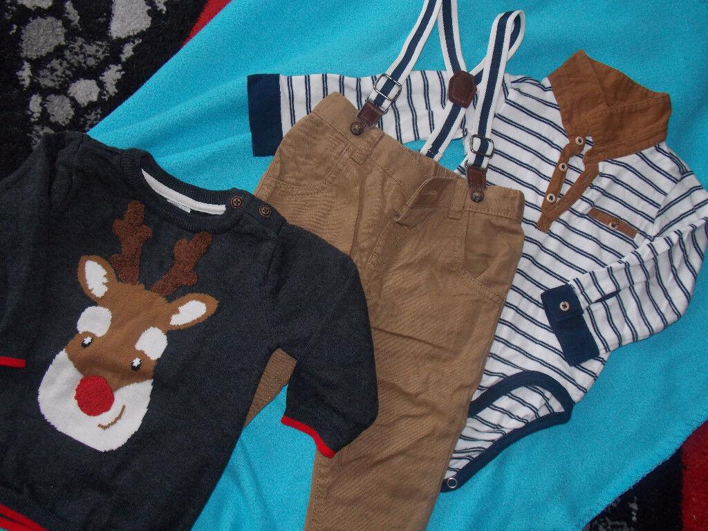 Baby boy Christmas clothes