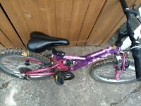 Apollo girl's bike for sale