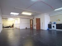 Superb live/work 1050sqft Studio Art Space..with Huge workshop area and facilities!