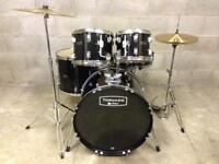 Mapex tornado drum kit new cymbals complete kit drums