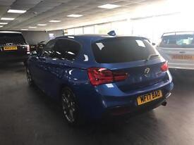 BMW 140i M SPORTS AUTO 5 DOOR FULL RED LEATHER SAT NAV